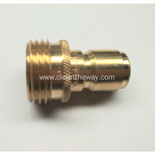 "Pressure Washer 3/4""NH M Brass Quick Connect Plug 4000psi"